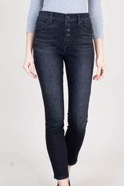 Level 99 Heidi Exposed Button Fly Jeans - Front full body