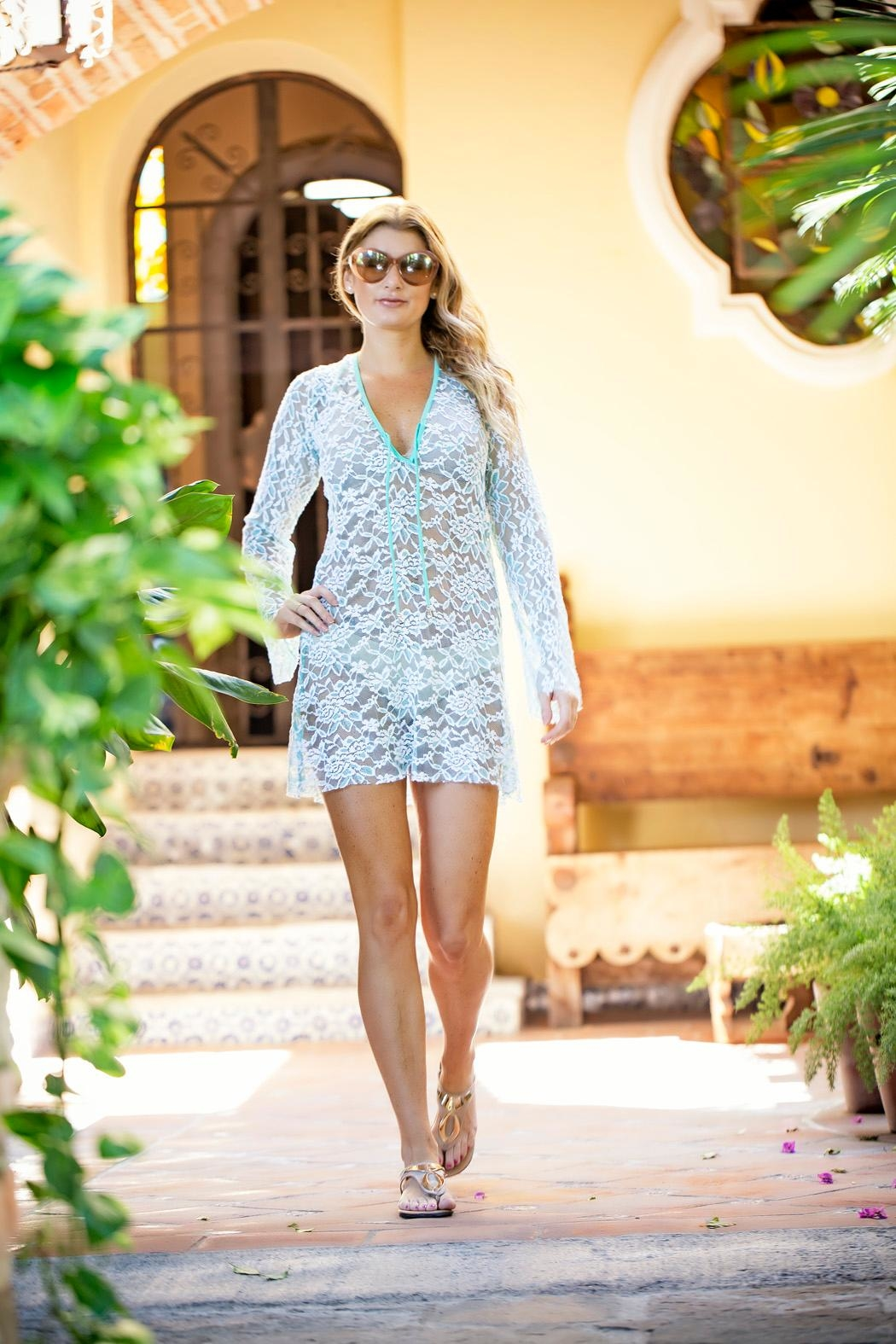 Myskova Heidi Lace Cover-Up - Main Image