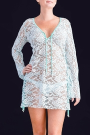 Myskova Heidi Lace Cover-Up - Front full body