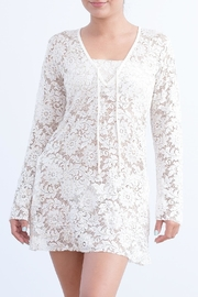 Myskova Heidi Lace Cover-Up - Product Mini Image