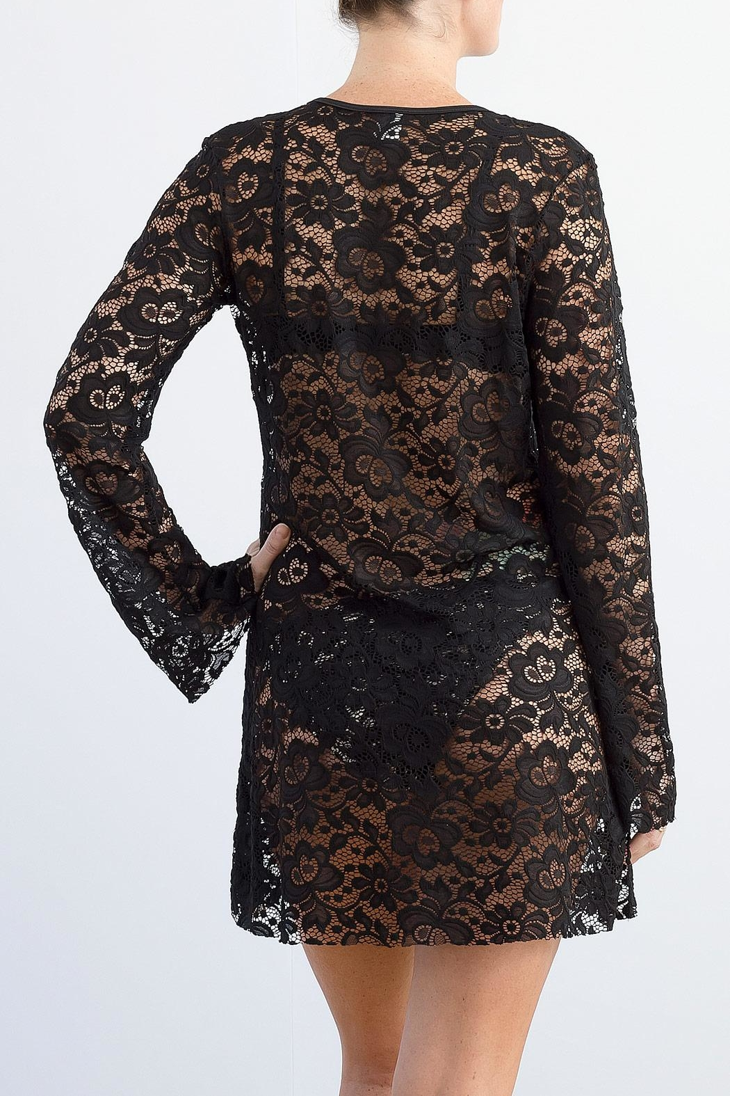 Myskova Heidi Lace Cover-Up - Side Cropped Image