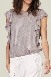 David Lerner Heidi Ruffle-Sleeve Tank - Product Mini Image