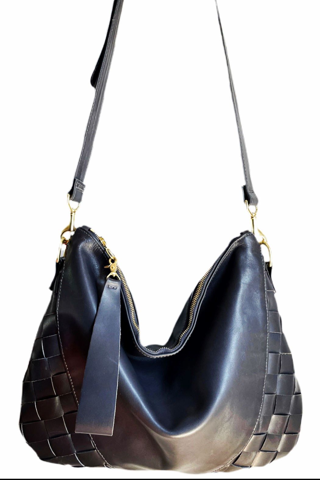 Stefka  Heidi Woven Hobo - Front Cropped Image
