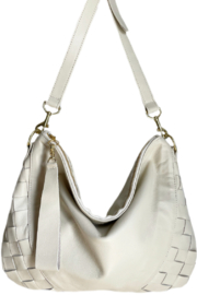 Stefka  Heidi Woven Hobo - Front cropped