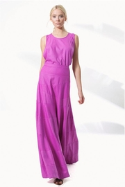 Heidi Merrick Windsor Fuchsia Dress - Front cropped