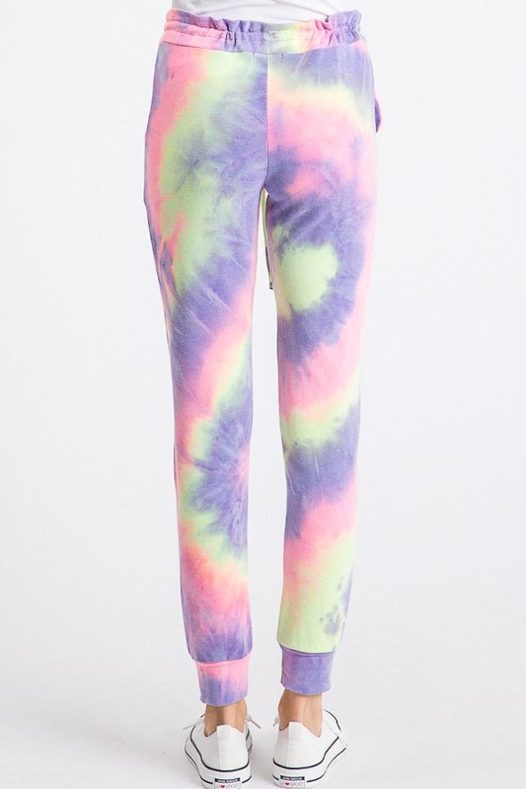 Heimish Tie Dye Joggers - Side Cropped Image