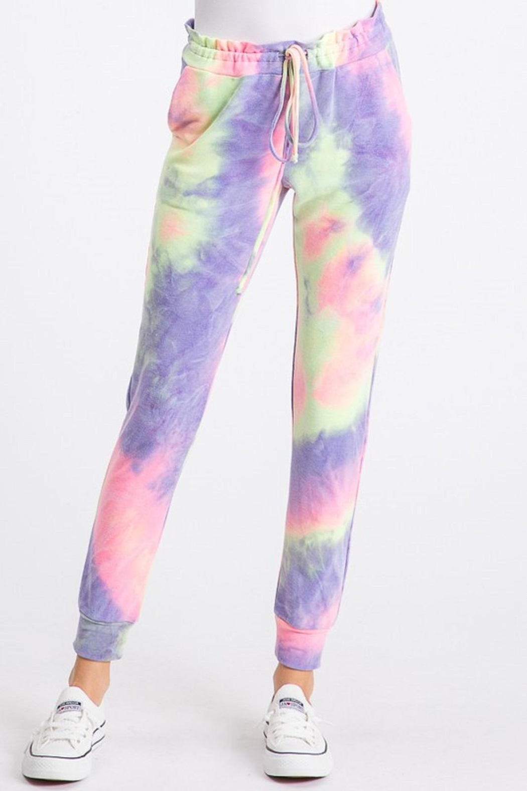 Heimish Tie Dye Joggers - Front Cropped Image