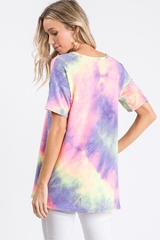 Heimish Tie-Dye Keyhole Top - Other
