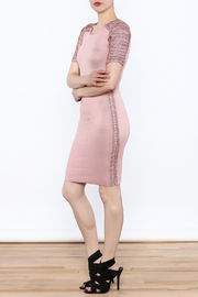 Heiress Boutique Pink Bandage Dress - Side cropped