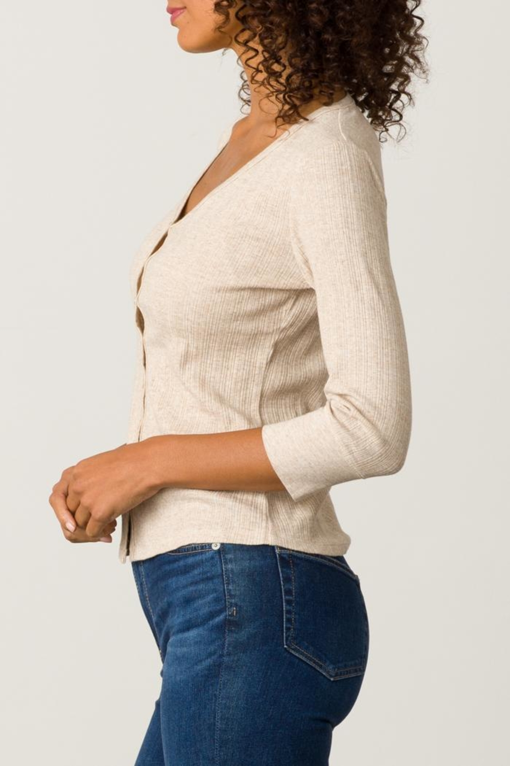 Margaret O'Leary Heirloom Cardigan - Front Full Image