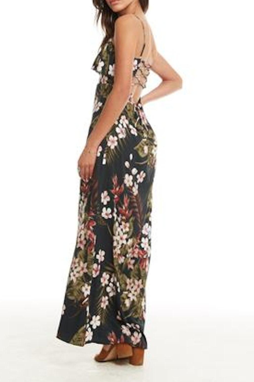 Chaser Heirloom Maxi Dress - Side Cropped Image