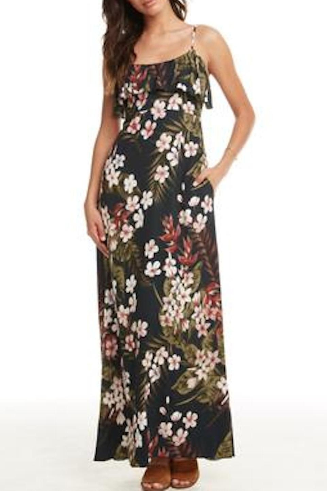 Chaser Heirloom Maxi Dress - Front Full Image
