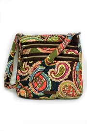 Vera Bradley Heirloom Paisley Triple-Zip - Product Mini Image