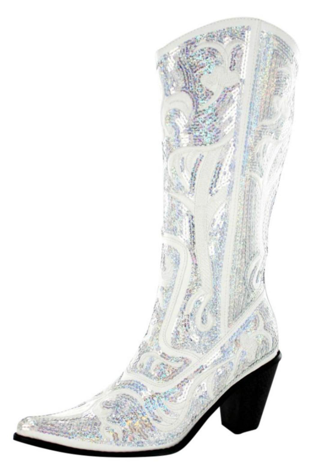 Helen\'s Heart/Glitz & Glam Bling Cowgirl Boots from Palm Beach by ...