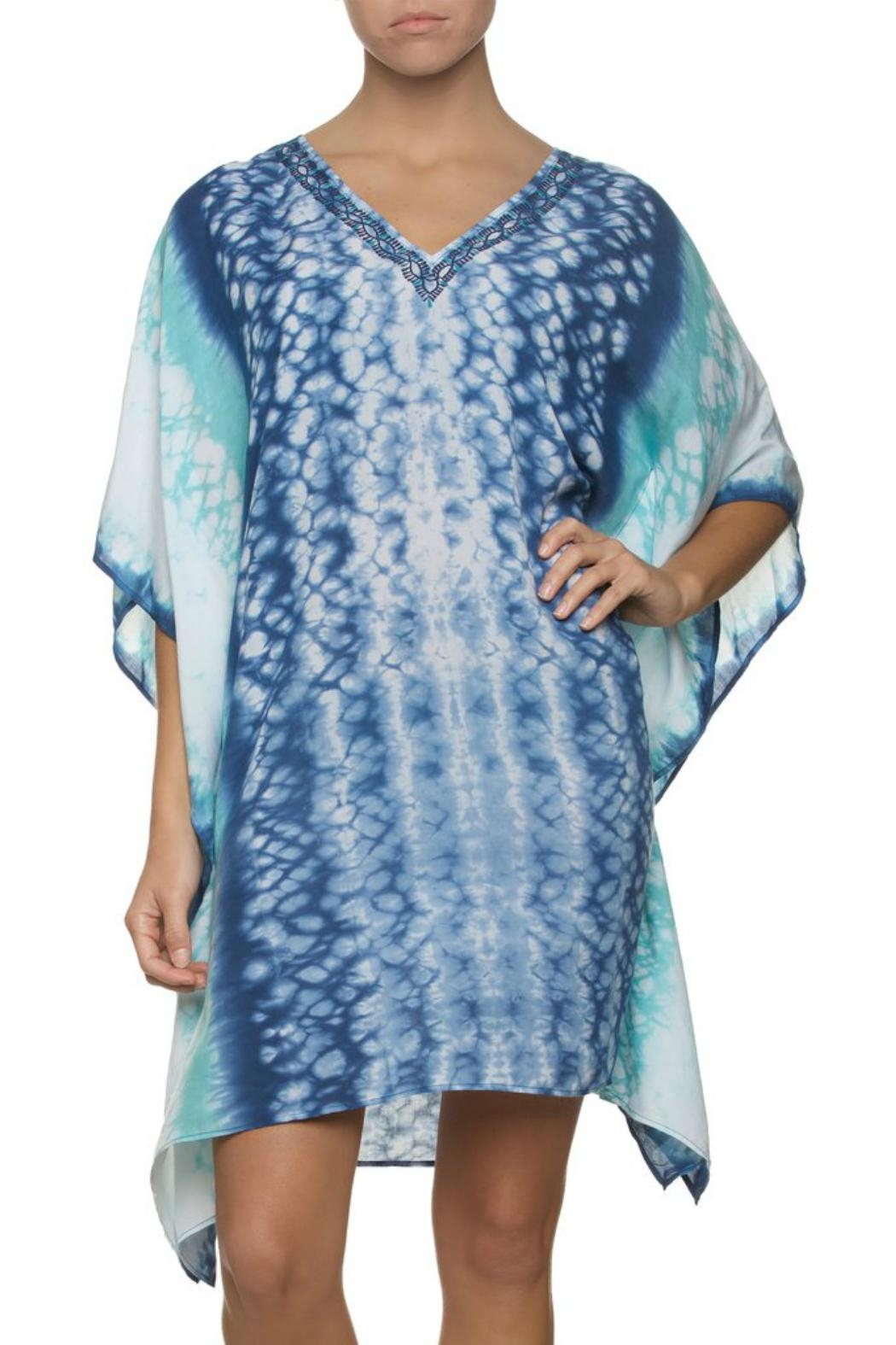 Helen Jon  Hand Dyed Caftan - Front Cropped Image