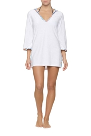 Helen Jon  Hooded Terry Coverup - Back cropped