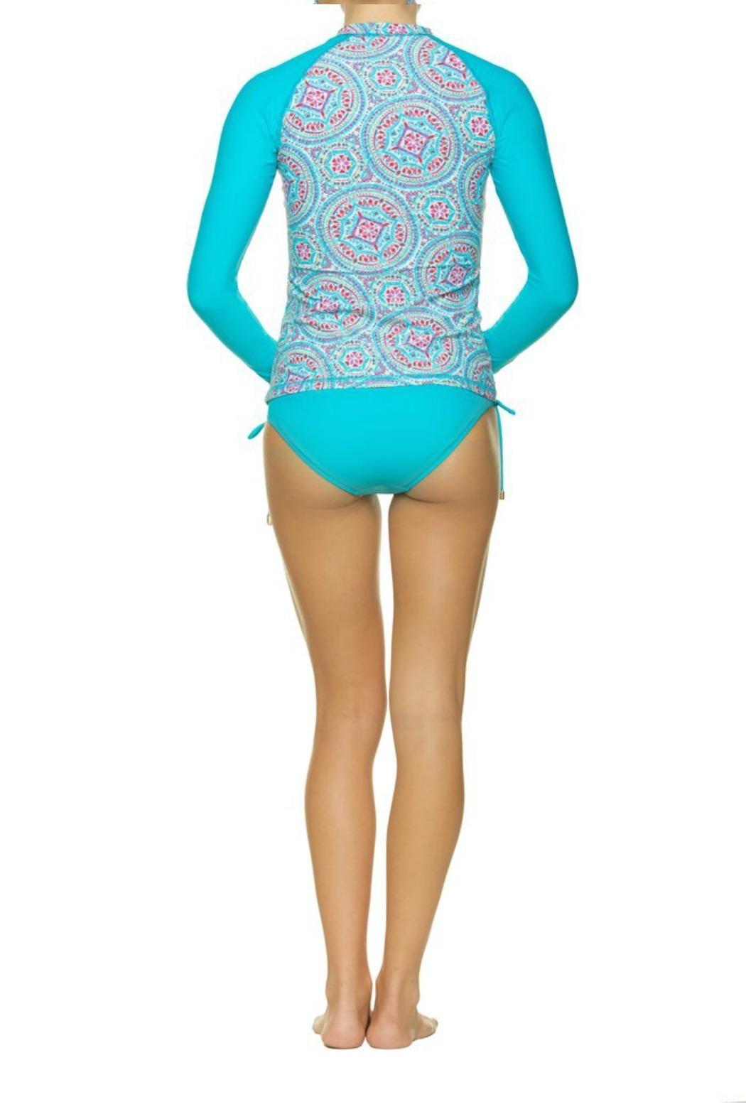 Helen Jon  Rash Guard Swim Shirt - Front Full Image
