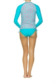 Helen Jon  Rash Guard Swim Shirt - Front full body