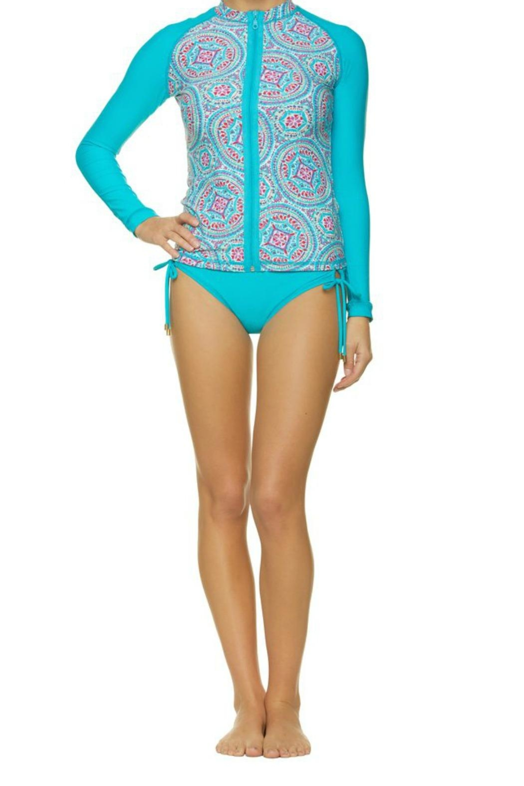 Helen Jon  Rash Guard Swim Shirt - Main Image
