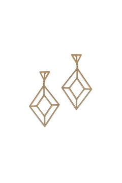 Fornash Helena Diamond Earrings - Product List Image