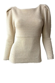 Mara Hoffman Helena Tailored Sweater - Product Mini Image