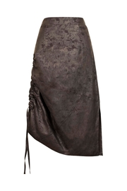 Helena Jones Foil Gathered Skirt - Front cropped