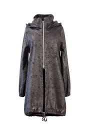 Helena Jones Foil Hooded Coat - Front cropped