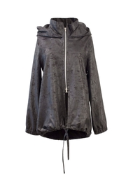 Helena Jones Foil Hooded Jacket - Product Mini Image