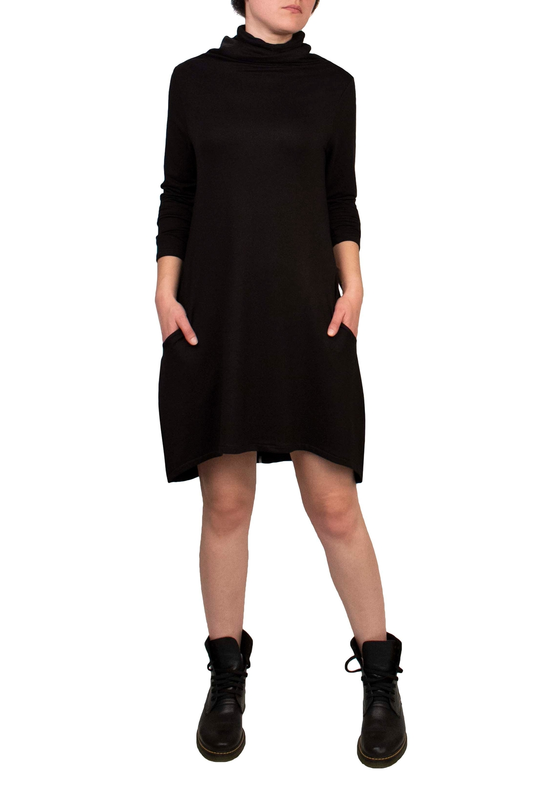 Helena Jones French Terry Dress - Front Cropped Image