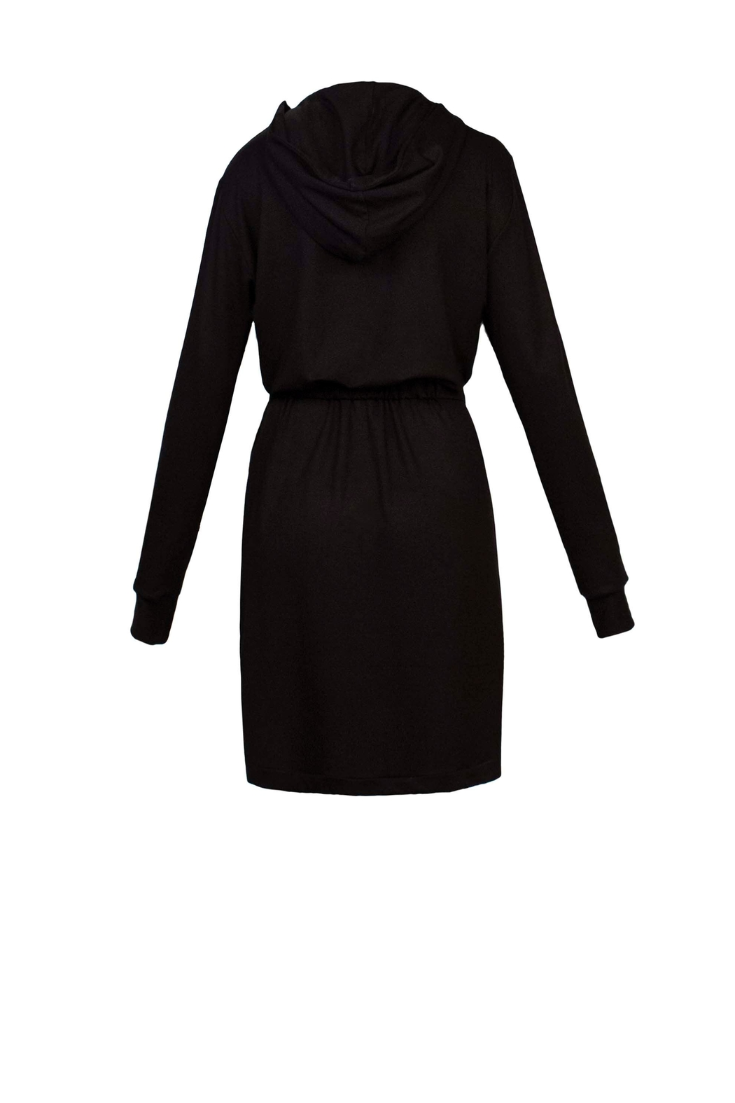 Helena Jones Hooded French Terry Dress - Side Cropped Image