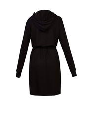 Helena Jones Hooded French Terry Dress - Side cropped