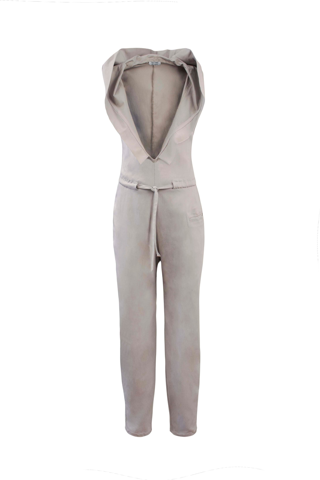 Helena Jones Hooded Jumpsuit - Front Cropped Image