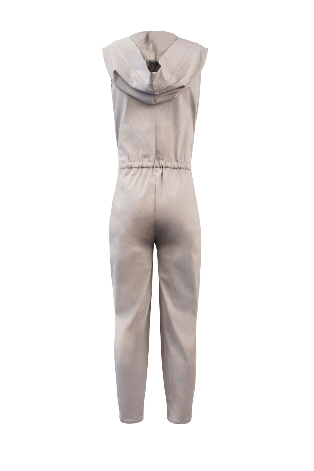 Helena Jones Hooded Jumpsuit - Front Full Image