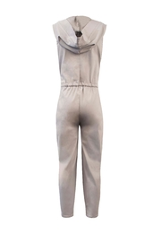 Helena Jones Hooded Jumpsuit - Front full body