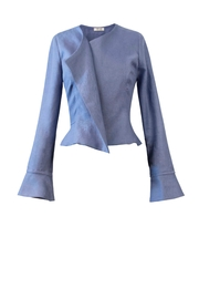 Helena Jones Linen Fitted Jacket - Product Mini Image