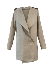 Helena Jones Linen Hooded Jacket - Product Mini Image