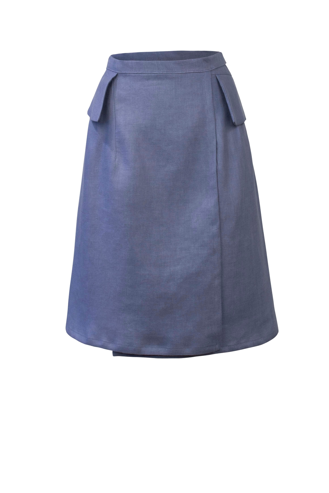 Helena Jones Wrap-Around Skirt - Front Cropped Image