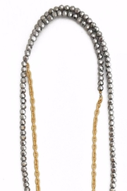 Helene Jewelry Beaded Wrap Necklace - Front full body