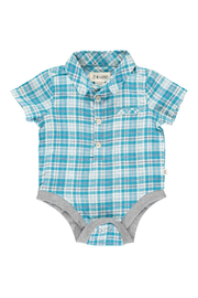 Me & Henry Helford Plaid Onesie - Product Mini Image
