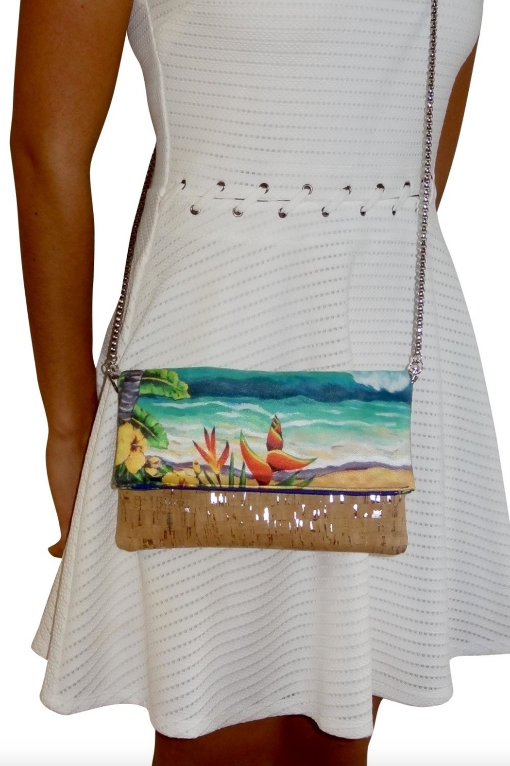 'olu'olu By Bliss Hawaii Heliconia Cross-Body Bag - Front Cropped Image
