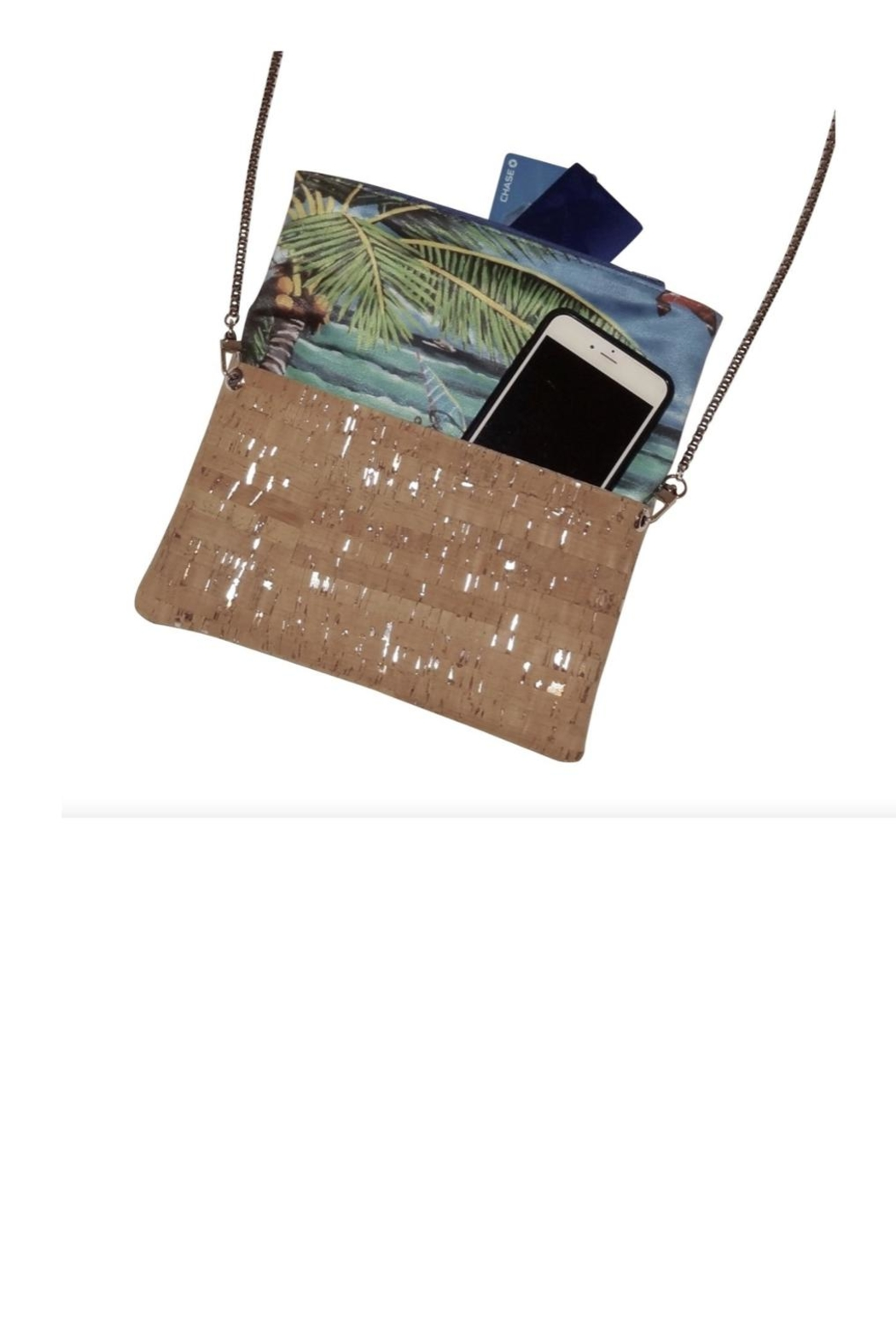 'olu'olu By Bliss Hawaii Heliconia Cross-Body Bag - Back Cropped Image