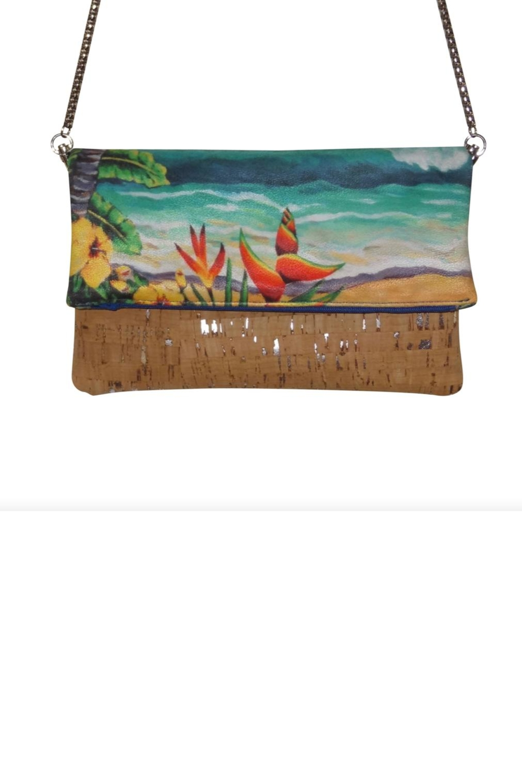 'olu'olu By Bliss Hawaii Heliconia Cross-Body Bag - Side Cropped Image