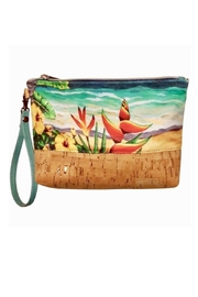 'olu'olu By Bliss Hawaii Heliconia Wristlet Pouch - Product Mini Image