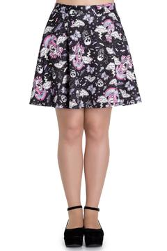 Hell Bunny Goth Candy Skirt - Product List Image