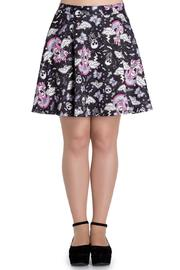 Hell Bunny Goth Candy Skirt - Product Mini Image