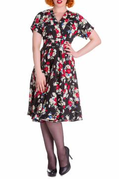Hell Bunny Heather Floral Dress - Product List Image