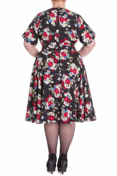 Hell Bunny Heather Floral Dress - Alternate List Image