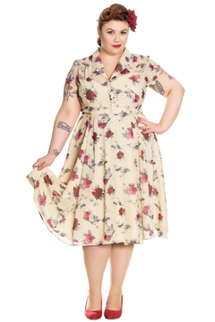 Hell Bunny Leah Rose Dress - Product List Image