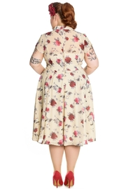 Hell Bunny Leah Rose Dress - Front full body
