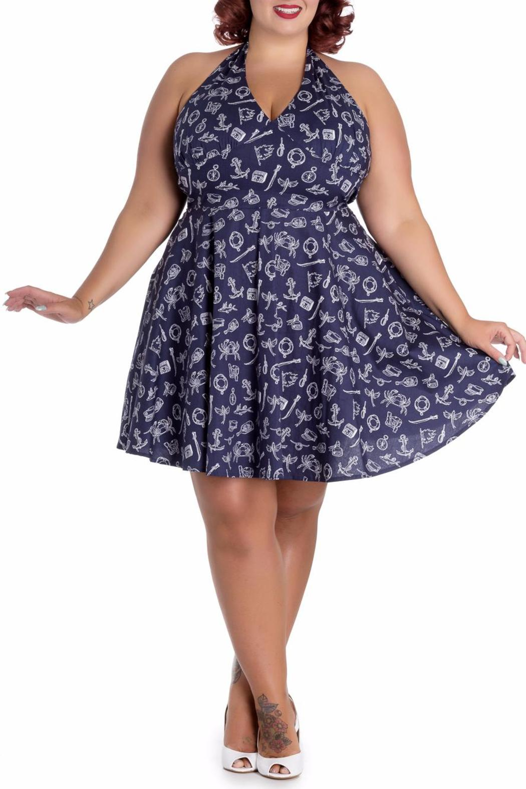 Hell Bunny Marin Mini Dress - Side Cropped Image